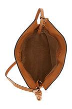 Loewe - Mini Flamenco Warm Desert Leather Clutch