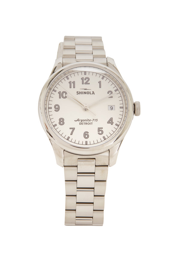 Shinola The Vinton Alabaster Watch, 38mm