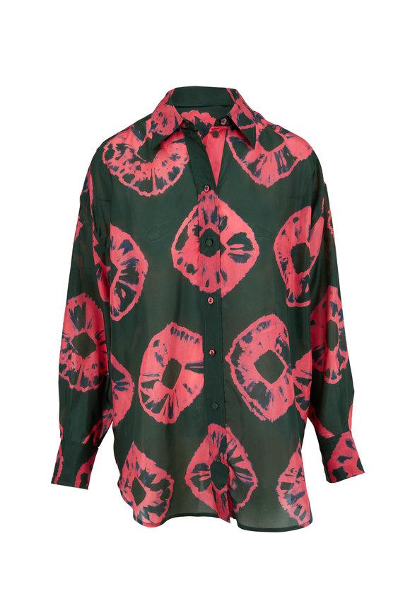 Zimmermann Multicolor Poppy Relaxed Shirt