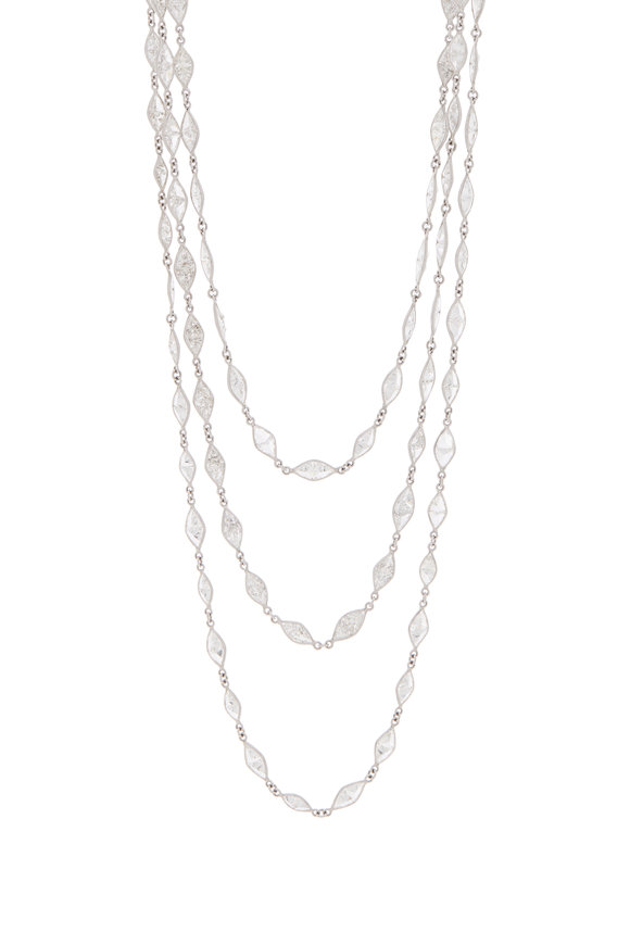 Louis Newman Diamond Necklace