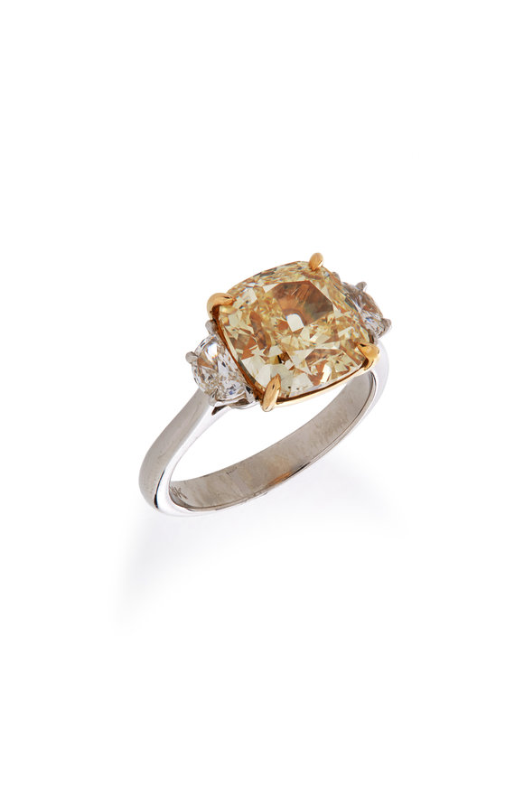 Lowy & Co Yellow Diamond Ring