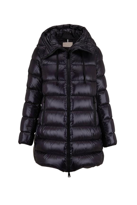 Moncler Suyen Black Down Puffer Coat