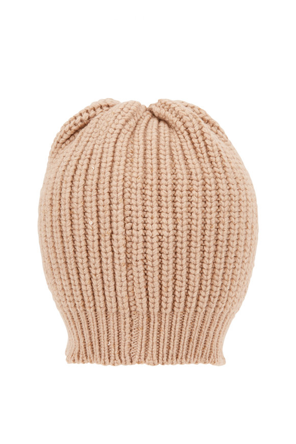 Brunello Cucinelli Granola Paillette English Rib Hat