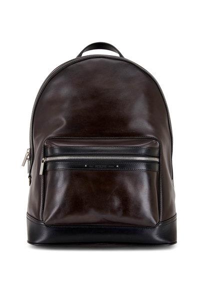 Berluti - Explorer Ice Black Leather Backpack