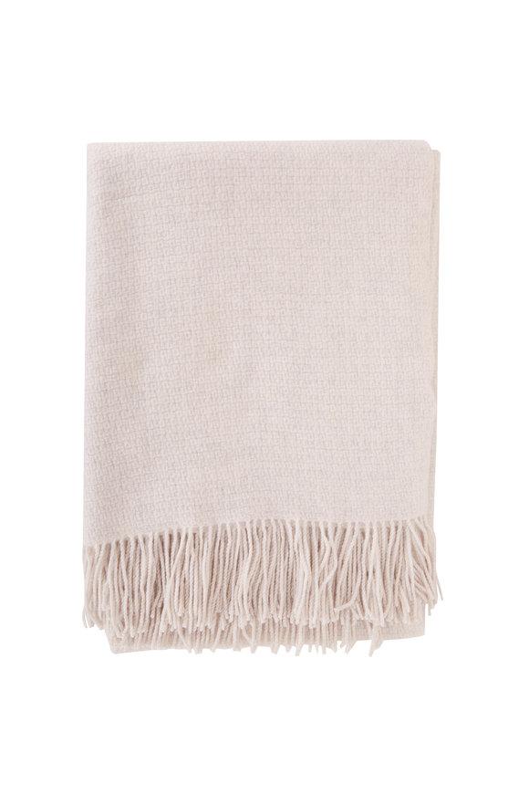 Kinross Whisper Texture Weave Throw Blanket