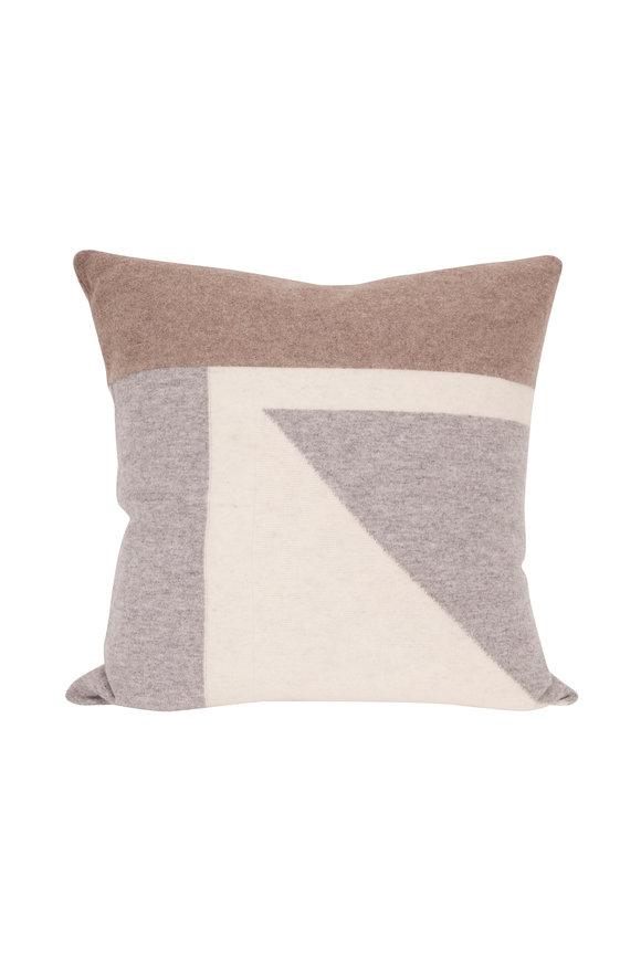 Kinross Intarsia Whisper Multi Pillow Cover & Insert