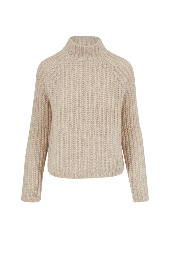 Vince Sepia Raglan Sleeve Sweater