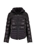 Bogner - Sophie Black Quilted Leather Puffer Jacket