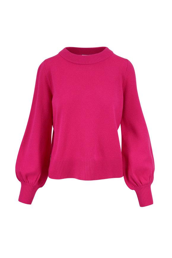 Akris Punto Pink Wool & Cashmere Sweater