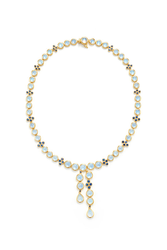 Temple St. Clair 18K Yellow Gold Moon River Necklace