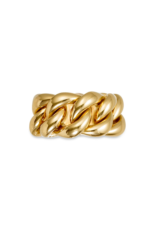 Yellow Gold Emma Linked Ring