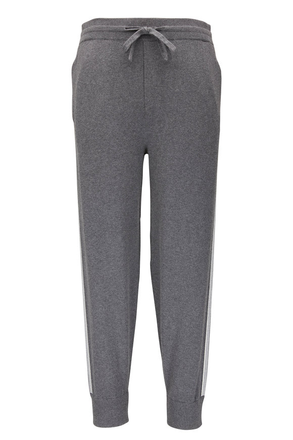 Vince Dark Grey Cotton & Cashmere Jogger