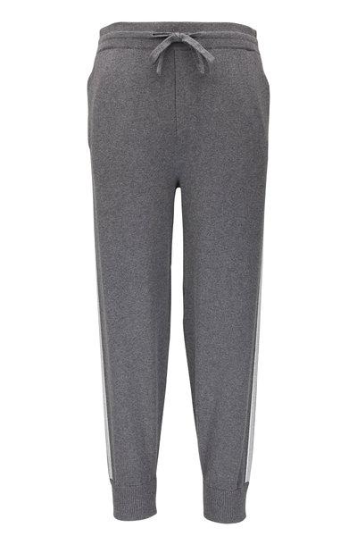 Vince - Dark Grey Cotton & Cashmere Jogger