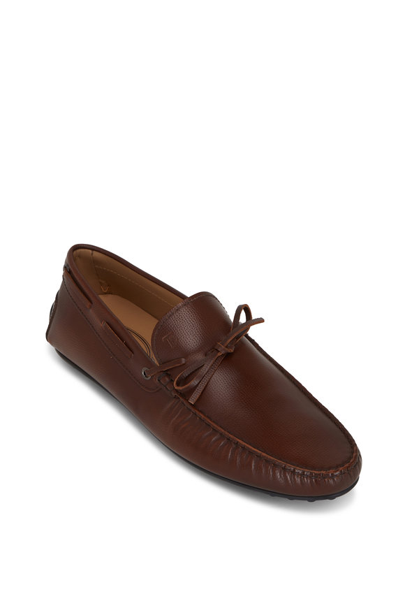 Tod's City Gommino Carmel Leather Loafer