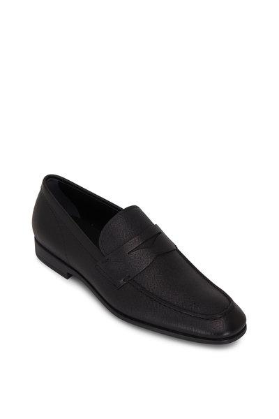 Tod's - Slim Mocassino Black Leather Loafer