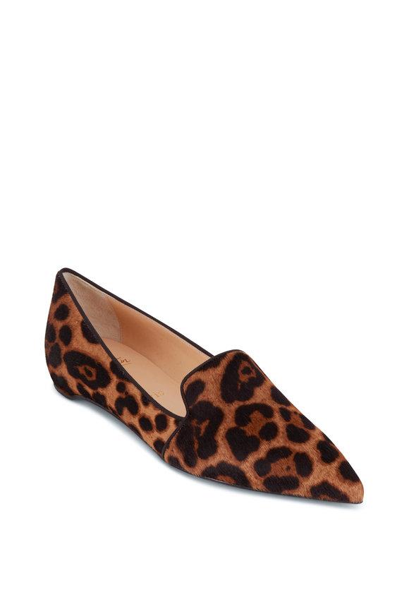 Christian Louboutin Kashasha Leopard Print Flat Loafer