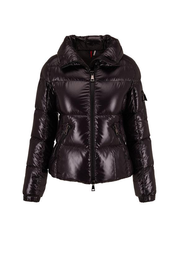 Moncler Moyade Black Shiny Down Jacket