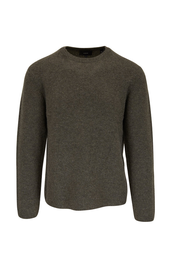 Vince Sierra Pine Cashmere Crewneck Sweater