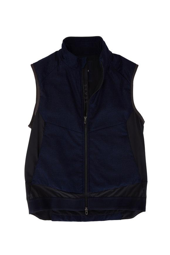 Sease Predator Navy Blue Front Zip Vest
