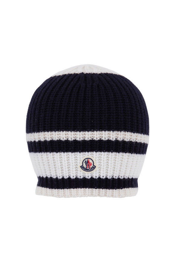 Moncler Berretto Tricot Wool Beanie