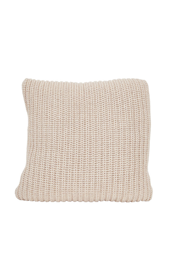 Brunello Cucinelli Butter Cashmere Pillow
