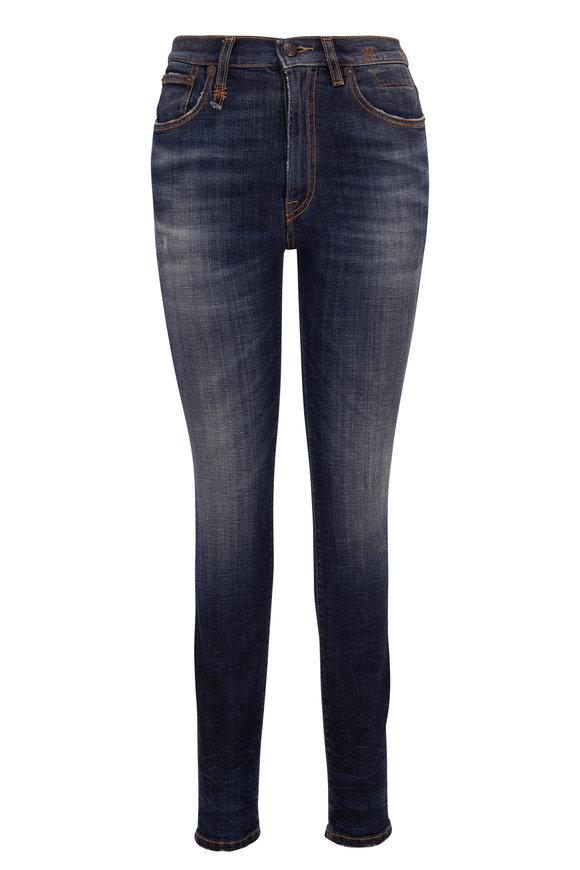 R13 Howell Indigo High-Rise Skinny Jean