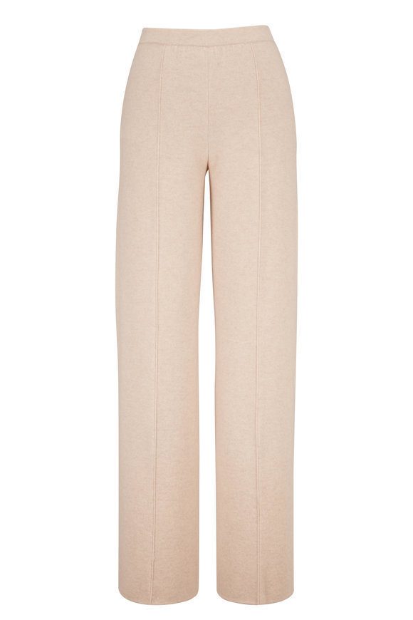 Lafayette 148 New York Oat Double Knit Pull On Pant
