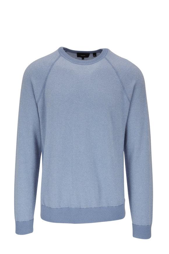 Vince Shoreline Birdseye Crewneck Sweater