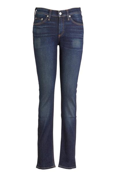 Rag & Bone - Chaucer Indigo High Rise Skinny Jeans