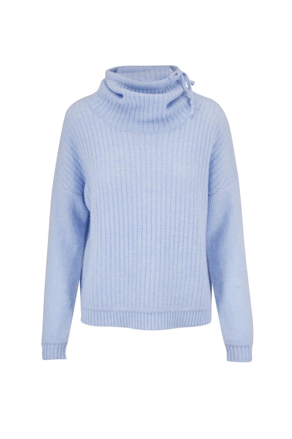Kinross Iris Drawstring Cowlneck Sweater