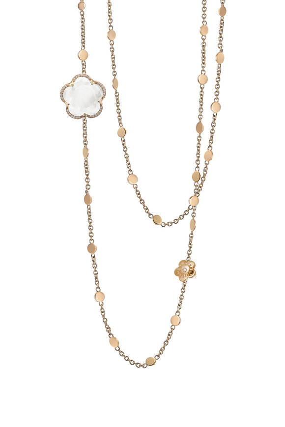 Pasquale Bruni 18K Rose Gold Layered Bon Ton Necklace