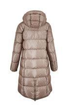 Bogner - Gijana Beige Down Hooded Coat