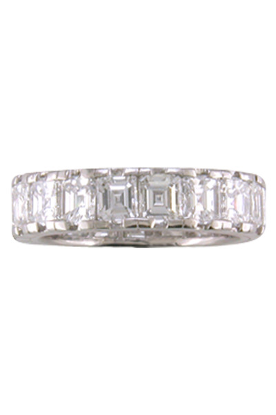 Oscar Heyman - Diamond Platinum Guard Ring