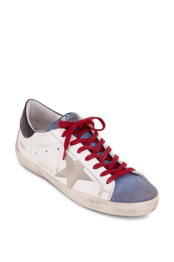 Golden Goose Superstar White Leather & Grey Star Sneaker