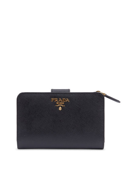 Prada - French Saffiano Leather Bi-Fold Wallet