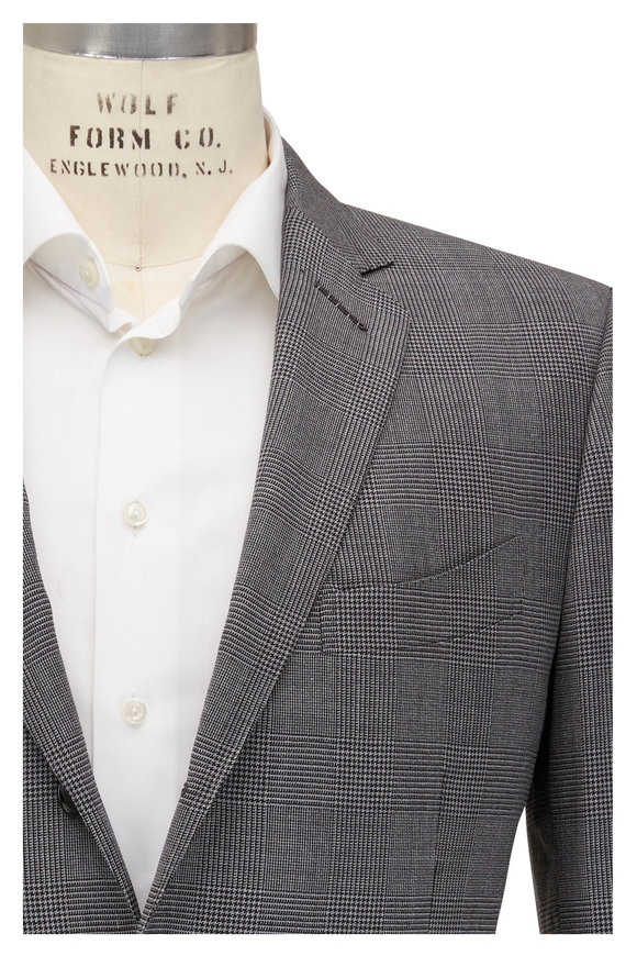Tom Ford Atticus Gray Prince of Wales Check Suit