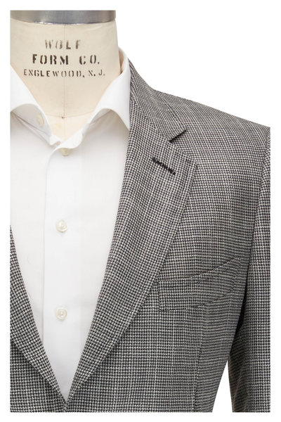 Tom Ford - O'Connor Gray Houndstooth Sportcoat