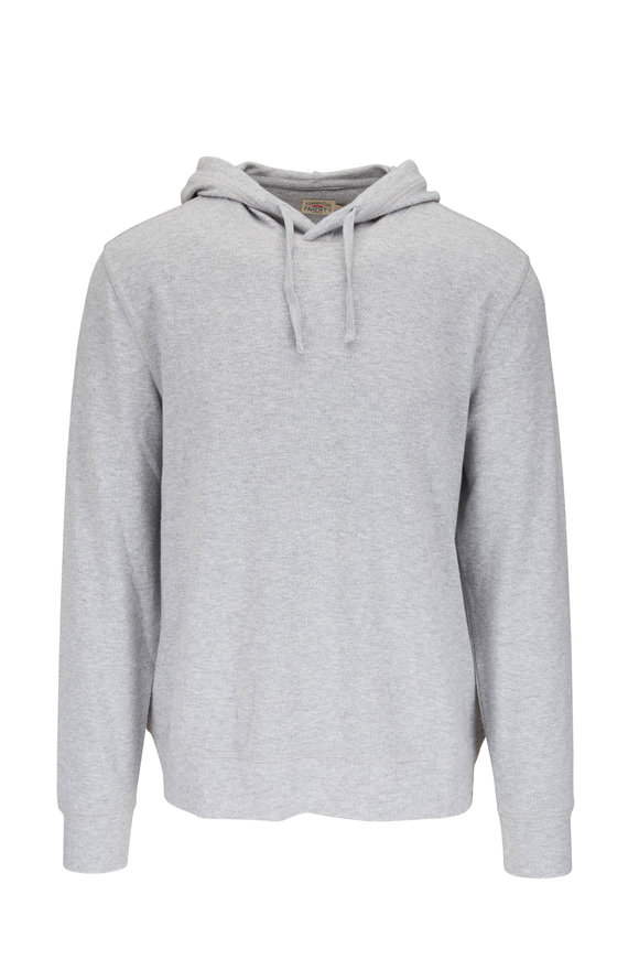 Faherty Brand Legend Light Grey Hoodie