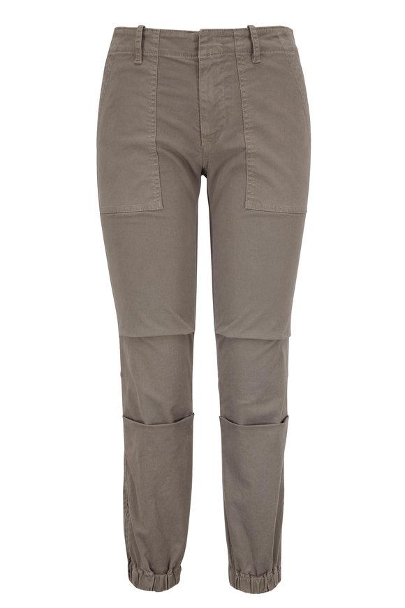 Nili Lotan Gray Cropped French Military Pant