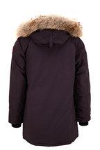 Canada Goose - Langford Navy Blue Fur Trim Hood Parka