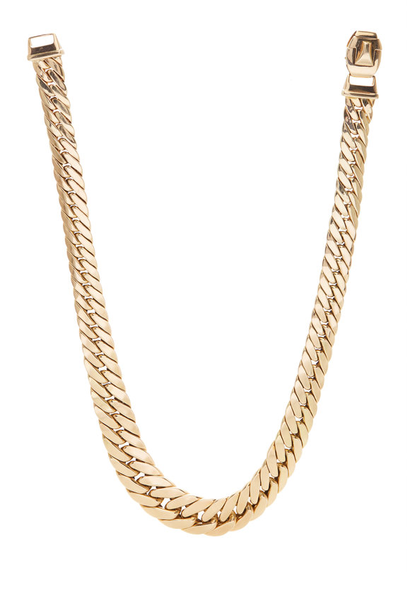 Fred Leighton 14K Yellow Gold Link Necklace