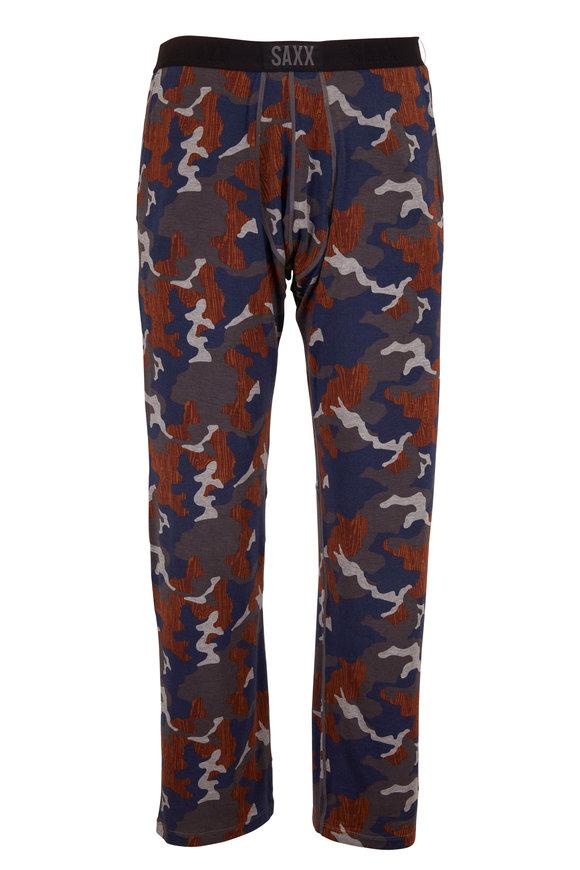 Saxx Underwear Sleepwalker Navy Blue Camo Pant