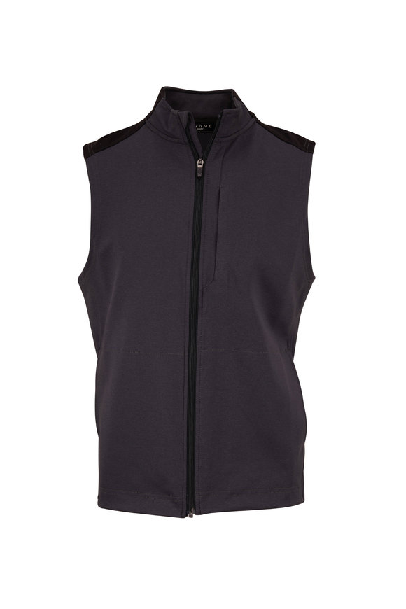 Rhone Apparel Hitch Black Tech Vest