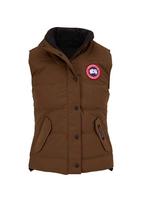 Canada Goose Freestyle Military Green Puffer Vest