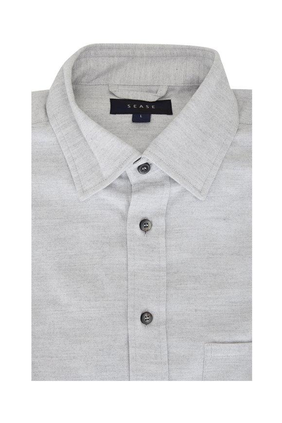 Sease Camica Classica Light Grey Sport Shirt