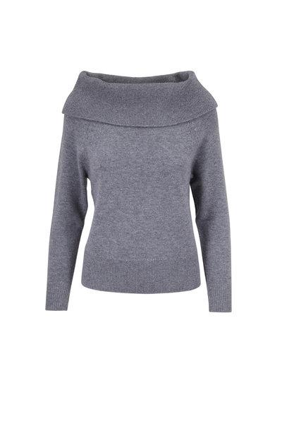 PAIGE - Izabella Heather Gray Sweater