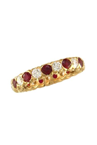 Oscar Heyman - Ruby Diamond Ring
