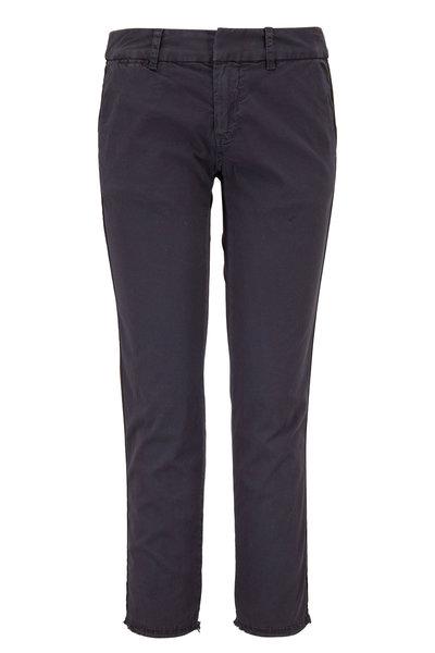 Nili Lotan - East Hampton Charcoal Gray with Tape Pant