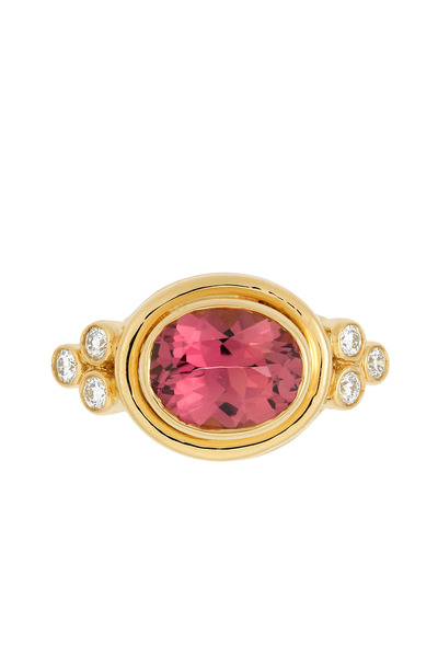 Temple St. Clair - Pink Tourmaline & Diamond Ring