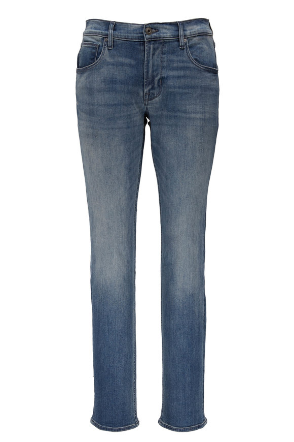Hudson Clothing Blake Pacific Mid-Rise Slim Straight Jean